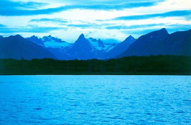 Wood Tikchik Alaska 1996 Unguided Fly Fishing Trip with buds