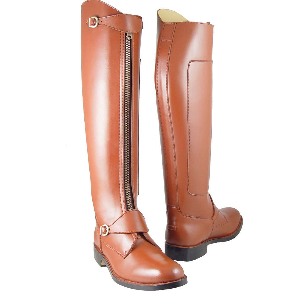 Hispar Invader2 Man Men's Tall Knee High Leather Equestrian Polo Boots