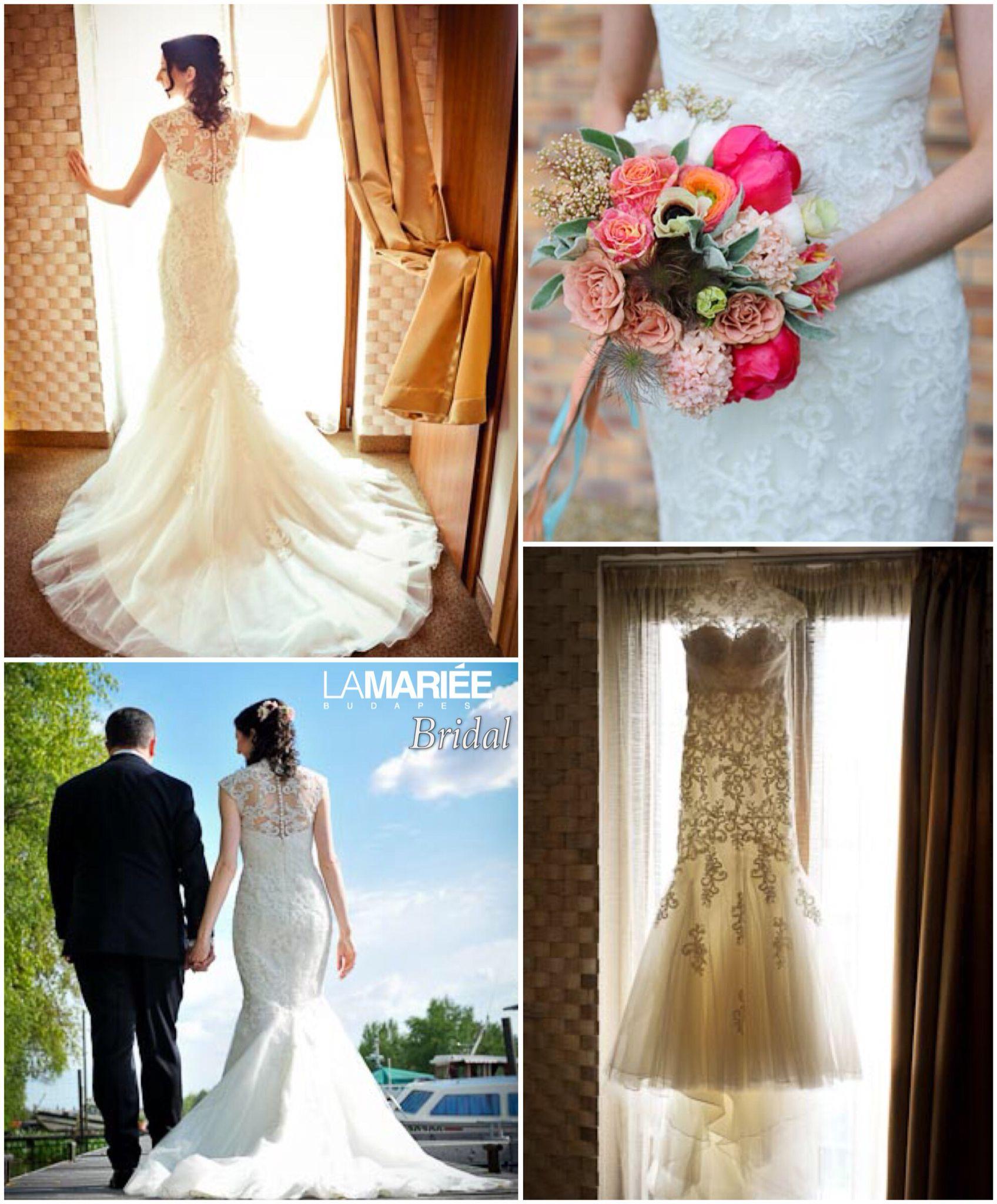 Noemi bride by La Mariée Budapest bridal  Leroig dress by Pronovias ... 100d0a2e6b