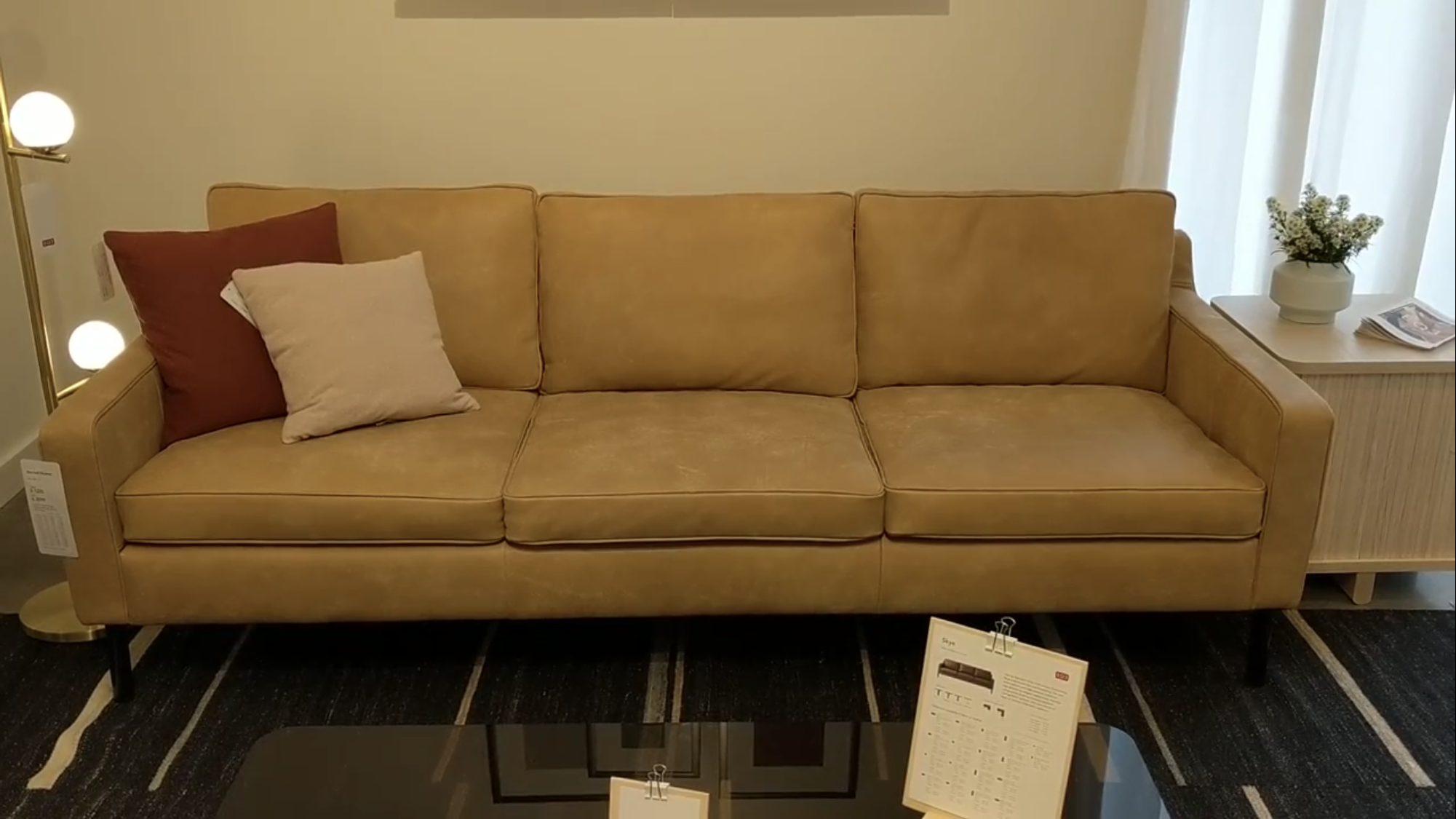 Eq3 Skye Sofa At Rubin S Furniture 1099 Starting In Fabric Contemporary Furniture Stores Furniture Contemporary Furniture