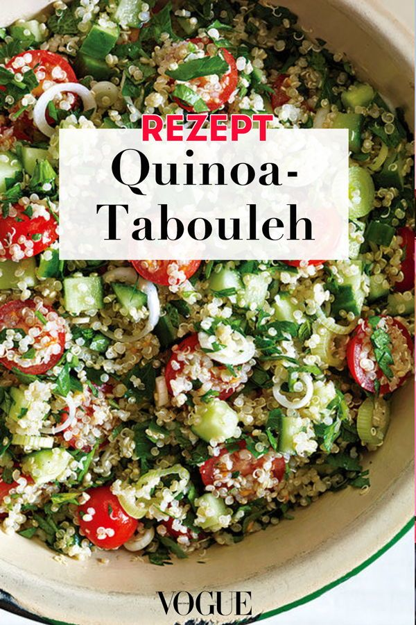 Photo of Quinoa Salad: Recipe for Quinoa Tabbouleh