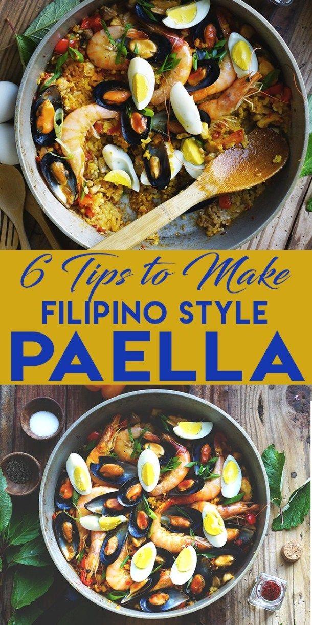 Photo of 6 TIPS TO MAKE FILIPINO STYLE PAELLA