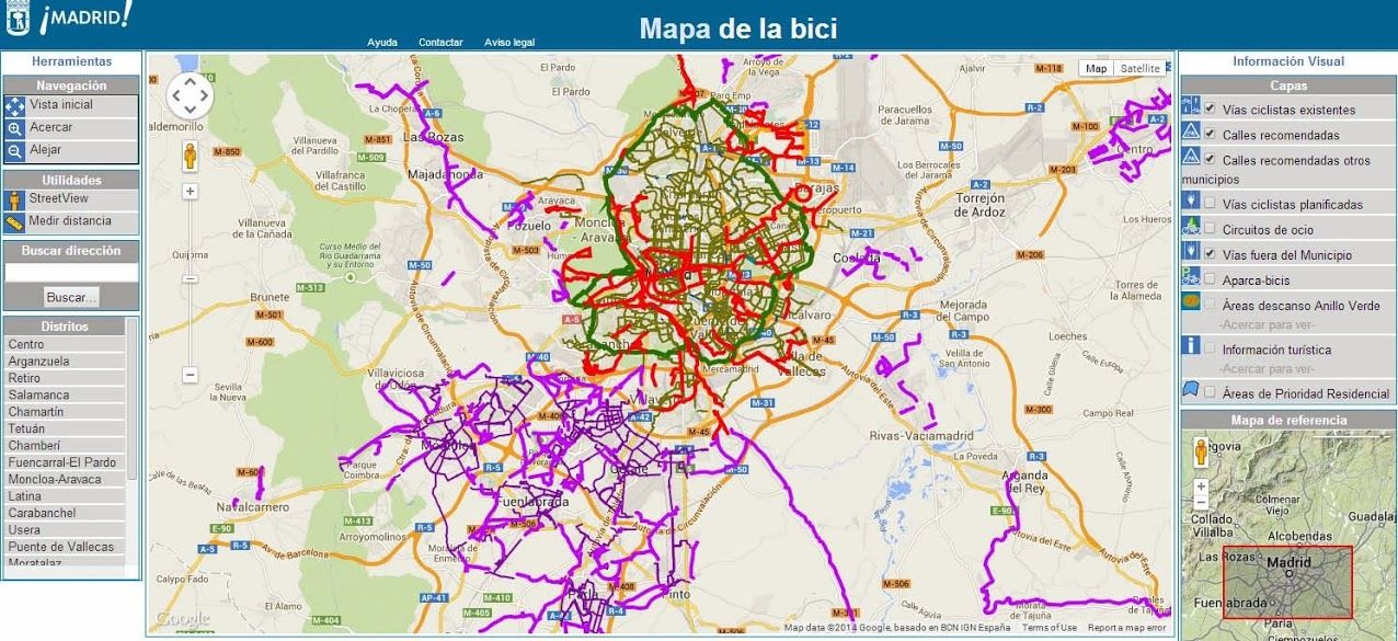 Resultado De Imagen De Mapa Del Area Metropolitana De Madrid Maps
