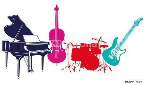 Vektor: Musikinstrumente
