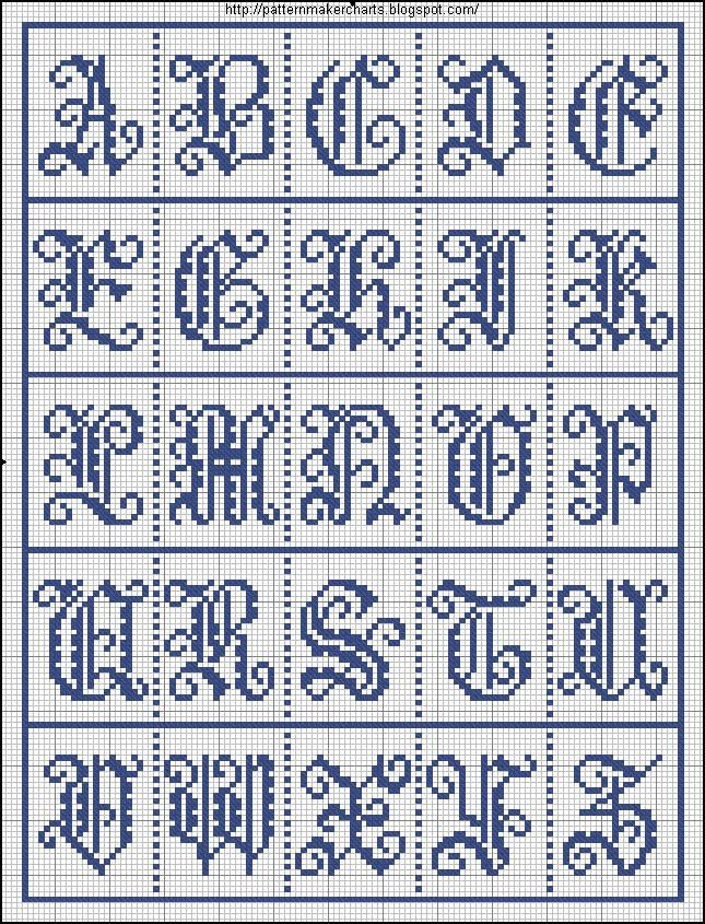 Free Easy Cross, Pattern Maker, PCStitch Charts + Free Historic Old Pattern Books: Sajou No 206