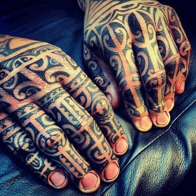Samoan hand tattoosick! Samoantattoos Hawaiiantattoos