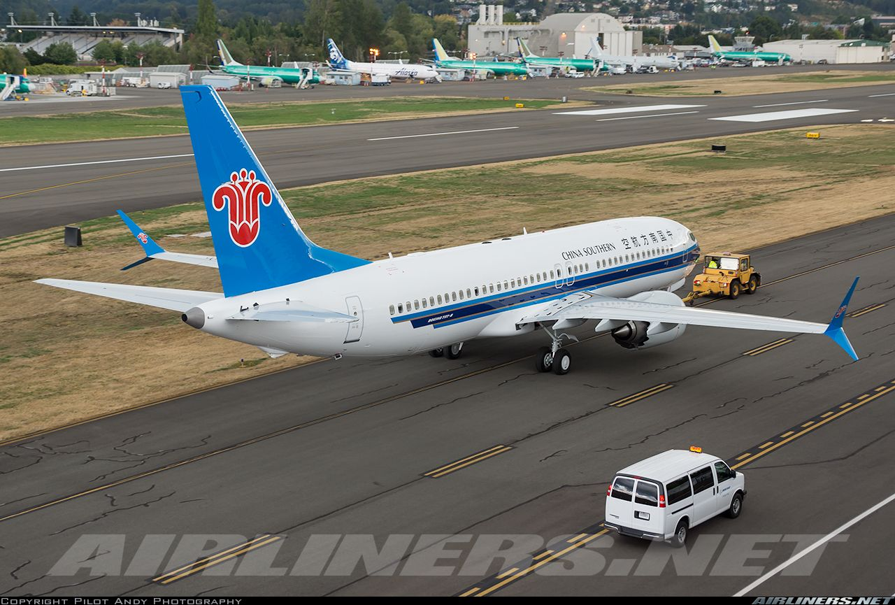 Boeing 7378 Max China Southern Airlines Aviation