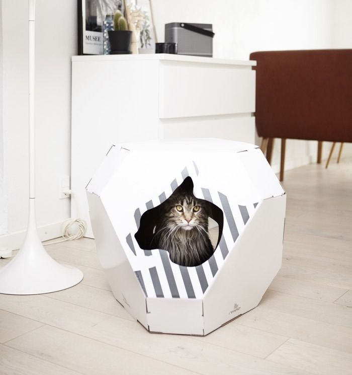 Let your pussy chill in peace with one of these designer caves and pods: http://www.styletails.com/2016/09/21/trends-10-designer-cat-caves-and-pods-your-cat-will-love/