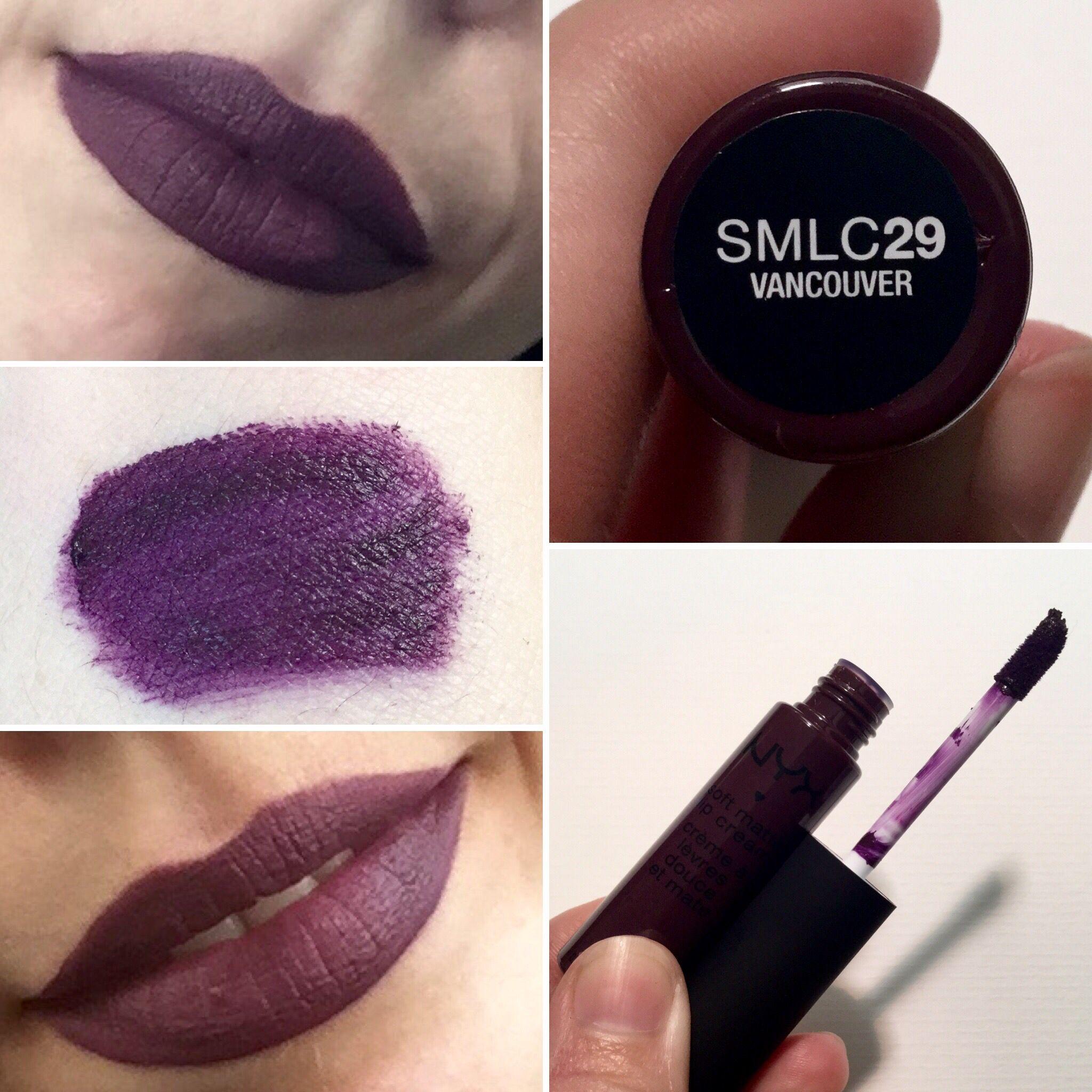NYX Liquid Lingerie nude purple beige matte lipstick in ...