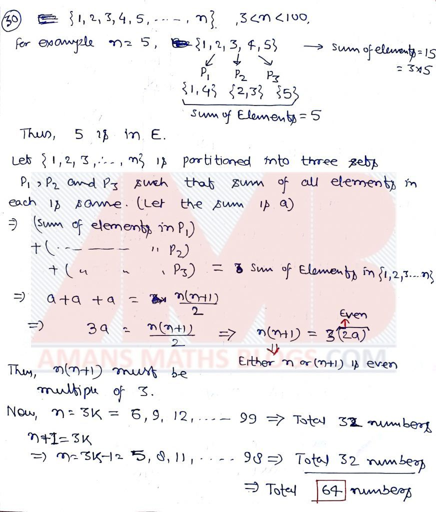 Fresh Ideas - Pre RMO 2019 Solution Question paper, Arithmetic