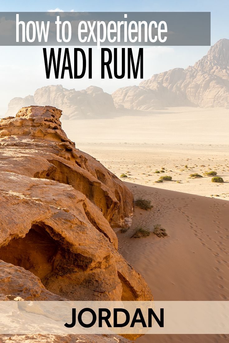 Jordan's incredible desert park of Wadi Rum #wadirum