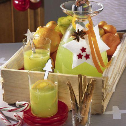 Grüner Glühwein Rezept | Glühwein Punsch Feuerzangenbowle