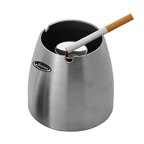 Amazon.com: Ashtray, Newness Stainless Steel Tabletop Decoration  Unbreakable Home Ashtray: Home & Kitchen - Ashtray Newness Stainless Steel Tabletop Decoration Unbreakable Home