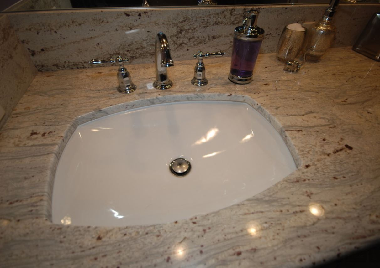 Cambria Quartz Windermere with Kohler Verticyl Oval Sink and