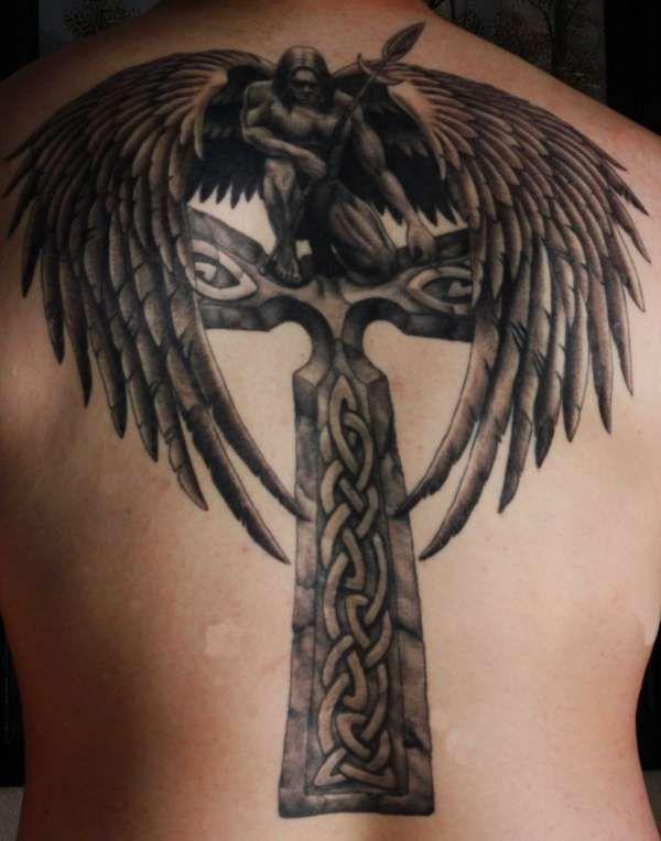 michael archangel symbols archangel symbols by doushe love those wings tattoo. Black Bedroom Furniture Sets. Home Design Ideas