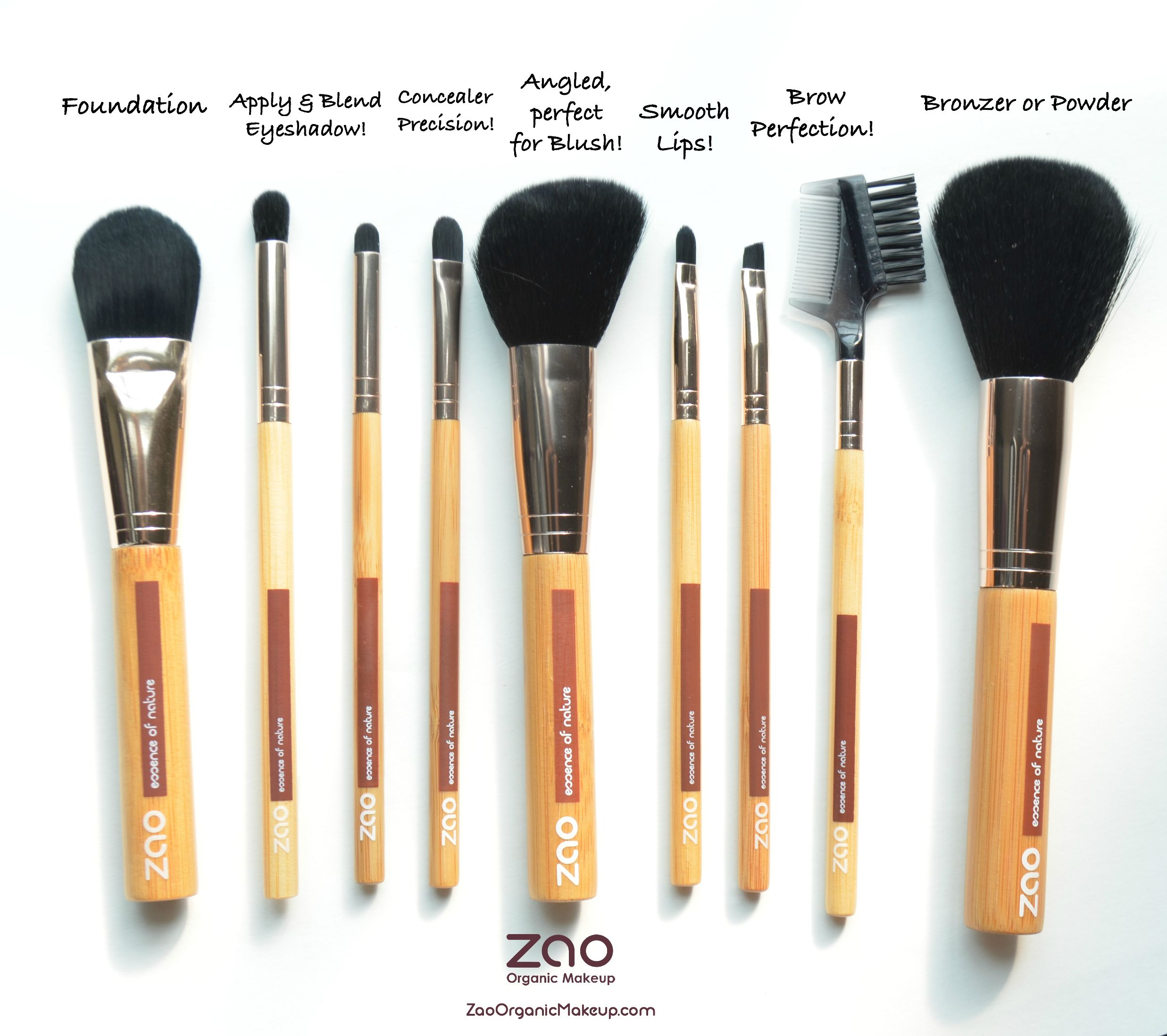 Synthetic Brushes Don T Have A Cuticle This Makes Them Great To Use With Liquid Cream Products Or Product Organic Makeup Brushes Simple Skincare Bio Oil Skin