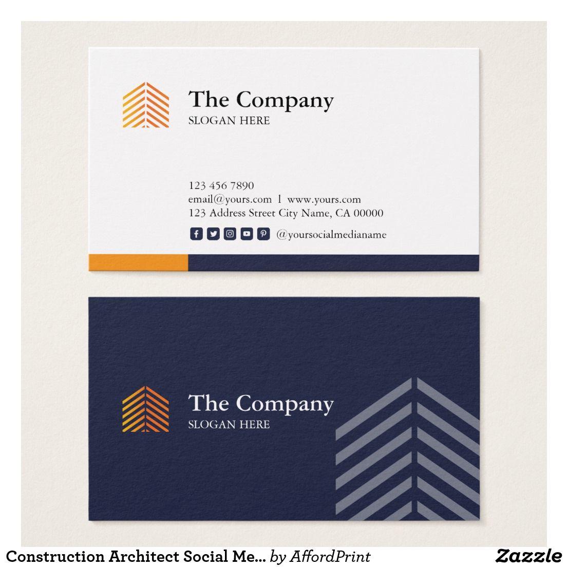 Construction Architect Social Media