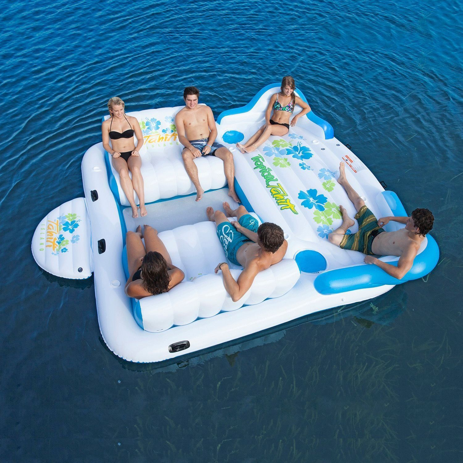 Amazon Tropical Tahiti Floating Island 6 Person 2016