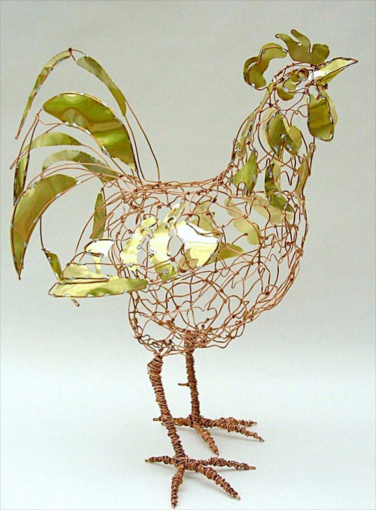 Pin von Vadeleau auf Sculpture | Pinterest | Draht arbeit, Draht und ...