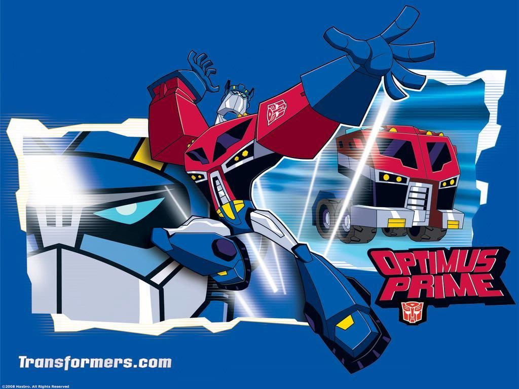 Transformers Animated Optimus Prime Wallpaper Transformers