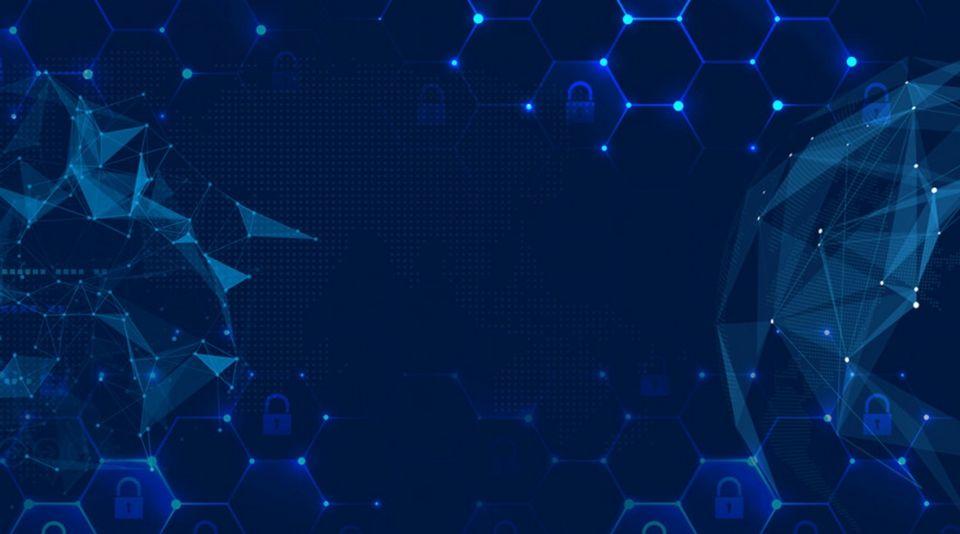 Blue Smart Light Tech Background  Con Im U00e1genes