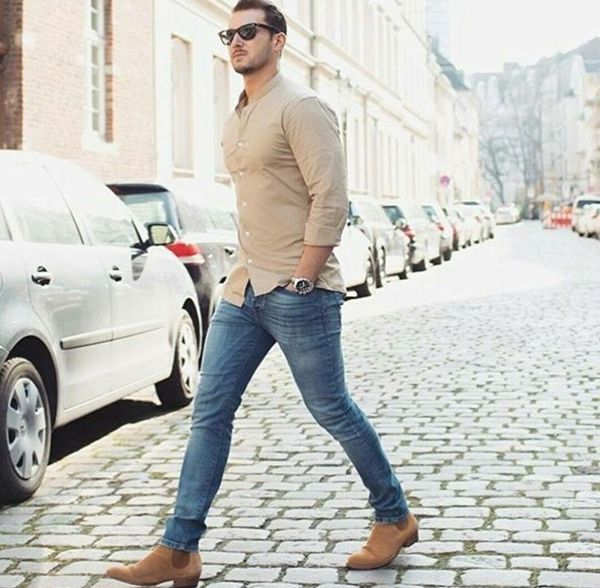 40 Work Outfits For Men To Try In 2017 Jeans Outfit Men Blue Jeans Outfit Men Mens Fashion Casual
