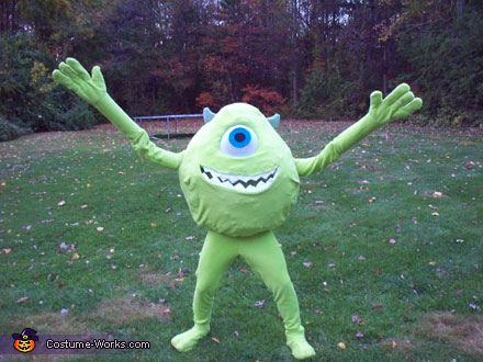Mike Wazowski - Halloween Costume Contest at Costume-Works