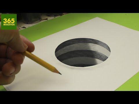 Increible Truco Como Dibujar Un Hoyo En 3d Paso A Paso How To Draw A 3d Hole Youtube Dibujos 3d A Lapiz Como Hacer Dibujos Ilusion Optica Dibujo