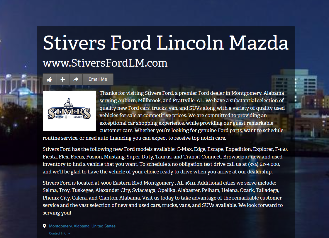 7 Best About Stivers Ford Lincoln Mazda Images On Pinterest | Ford, Ford  Expedition And Ford Trucks