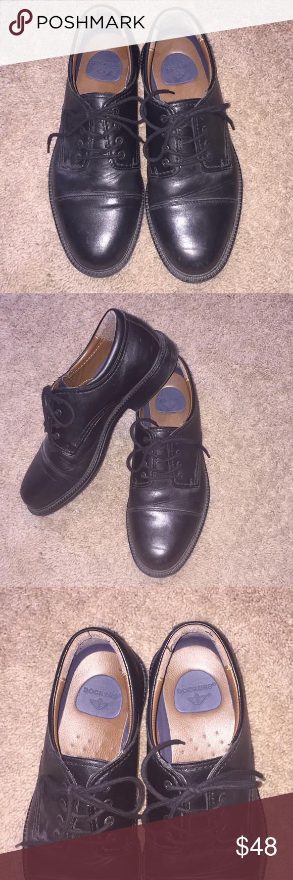 af3134500dc6 Dockers Leather Men s Shoes Black Lace Up Derby 10 Dockers Leather Men s  Shoes Black Lace Up Sz 10M Good condition Smokefree Dockers Shoes Oxfords    Derbys