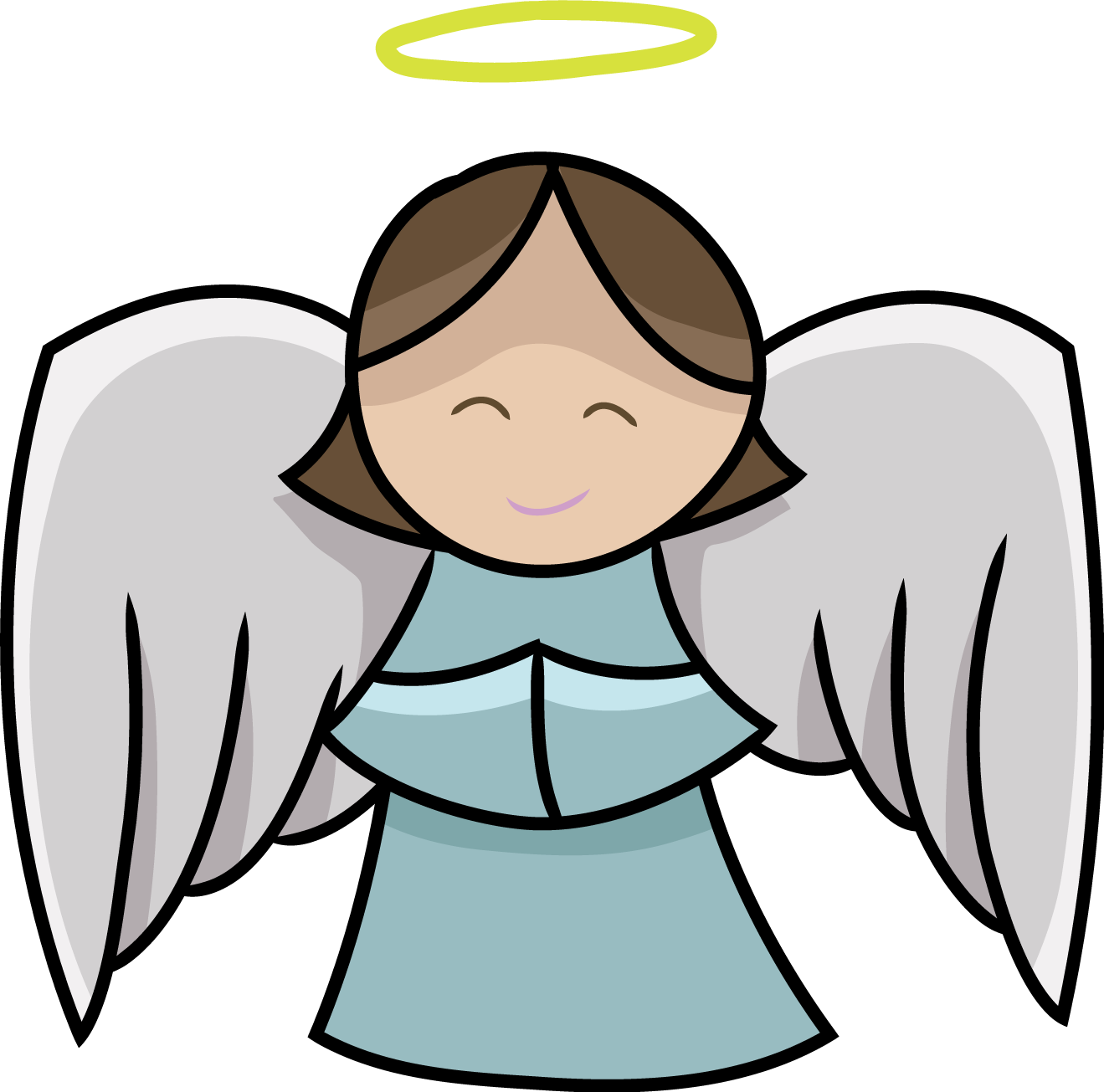 angel clip art free cute lovely angel clip art things to wear rh pinterest com au free clip art of angel blowing trumpet free clipart of angels 400x100 pixels