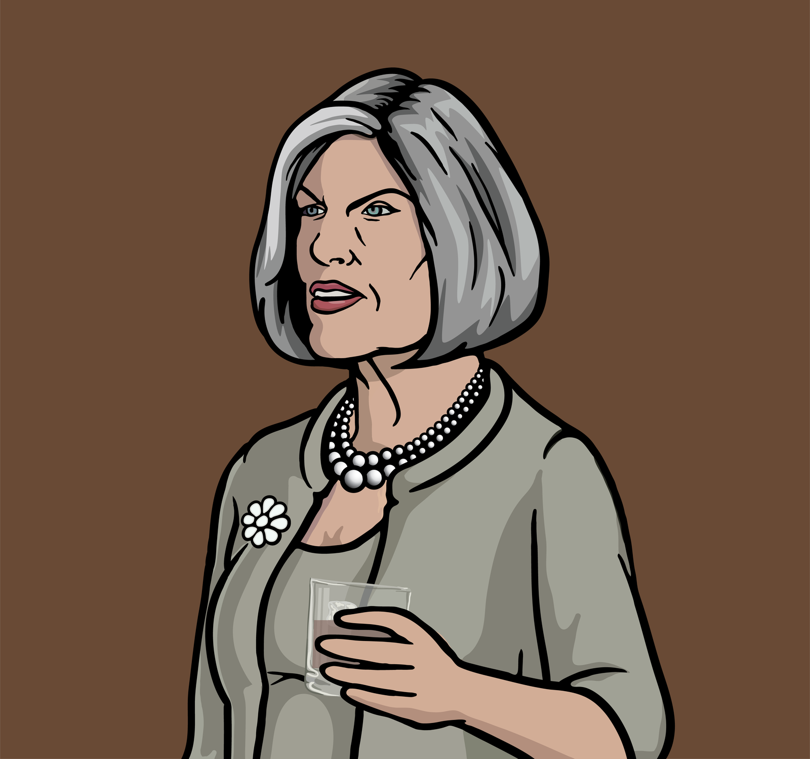 Malory Archer. Just,...I mean... My god she is the worst. | Archer