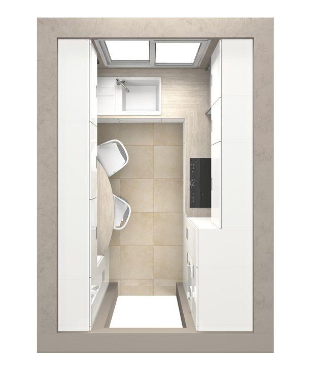cuisines petits espaces plans am nagement cuisine pinterest mobalpa ni oise et espaces. Black Bedroom Furniture Sets. Home Design Ideas