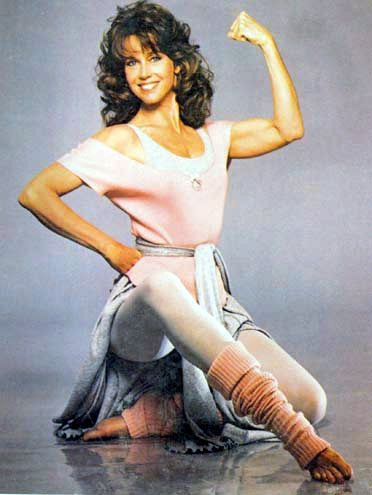 Jane Fonda was onto something there with her style. (1980 ...