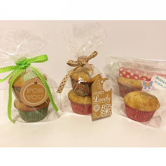 ready for the gift wrapping gift muffin ラッピング プレゼント