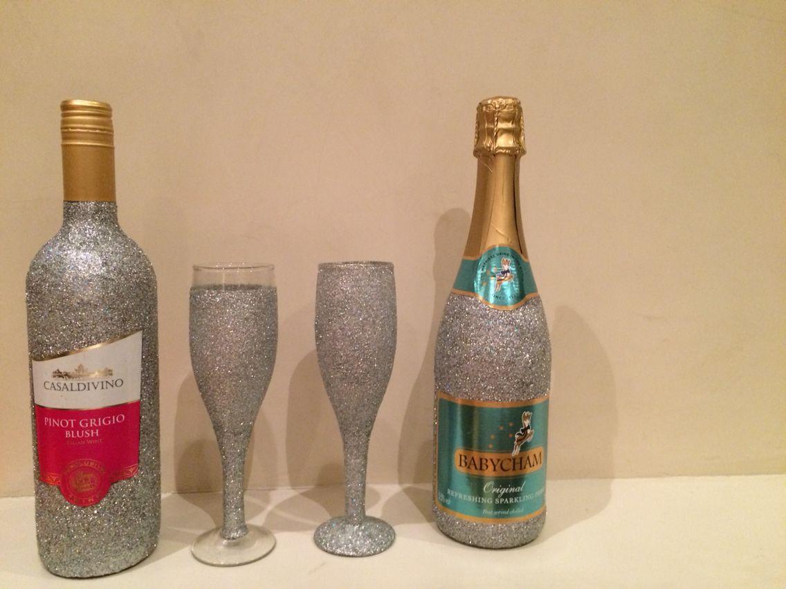 Glitter Bottles By Anna-Maria