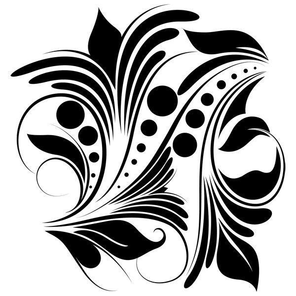Free Floral Designs Floral Stencil Fabric Paint Designs Silhouette Stencil