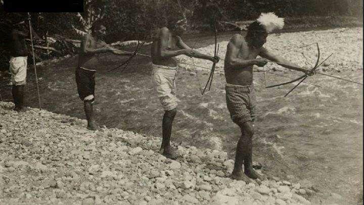 Indígenas Bribris, Costa Rica, 1921 | Painting, Art