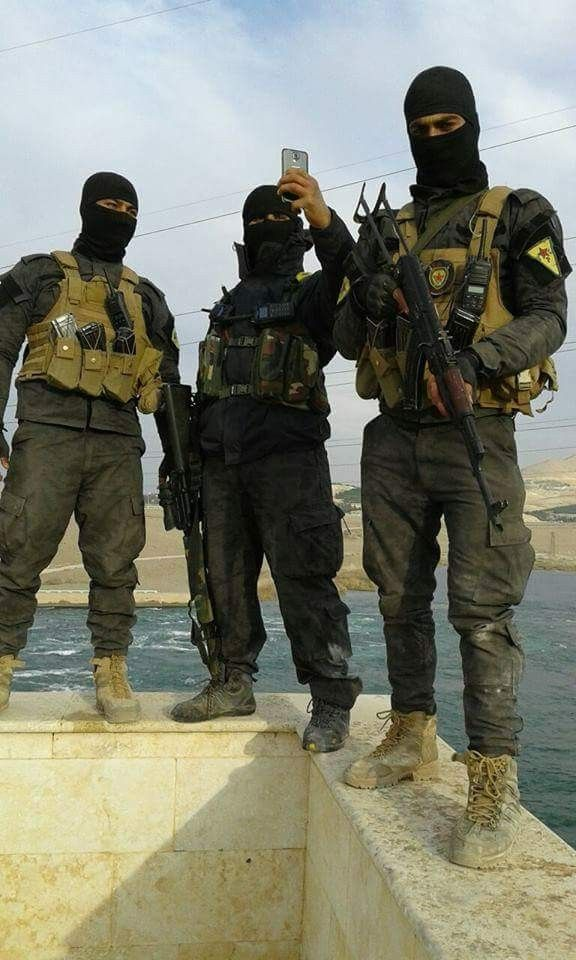 H.A.T. Rojava special forces