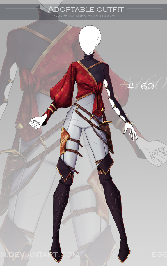 Photo of [CLOSED-Auction] Adoptable outfit #160 by Eggperon on DeviantArt