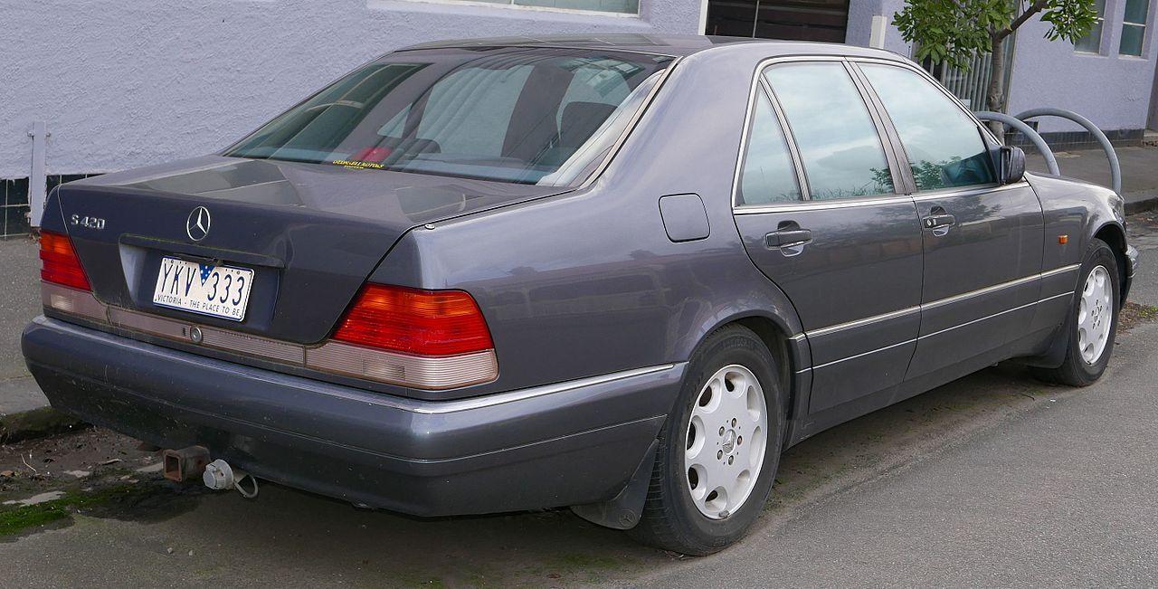 1995 Mercedes Benz S 420 W 140 Sedan 2015 07 16 Mercedes
