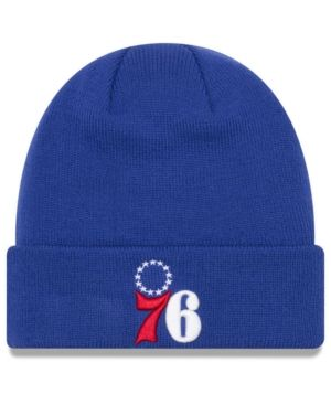 37876a1ebf8 NEW ERA PHILADELPHIA 76ERS BREAKAWAY KNIT HAT.  newera