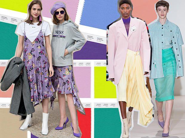 12 colori di tendenza per la Primavera Estate 2018 e 12 modi per abbinarli  ispirandosi alle 308fc39ae4d