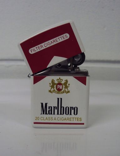 Marlboro Windproof Flip Flop Petrol Lighter Ebay Zippo Lighter Zippo Cool Lighters
