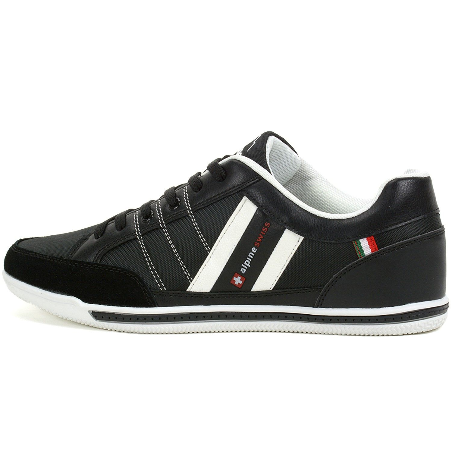 6d80d7a763c7 Alpine Swiss Stefan Mens Retro Fashion Sneakers Tennis Shoes Casual Athletic