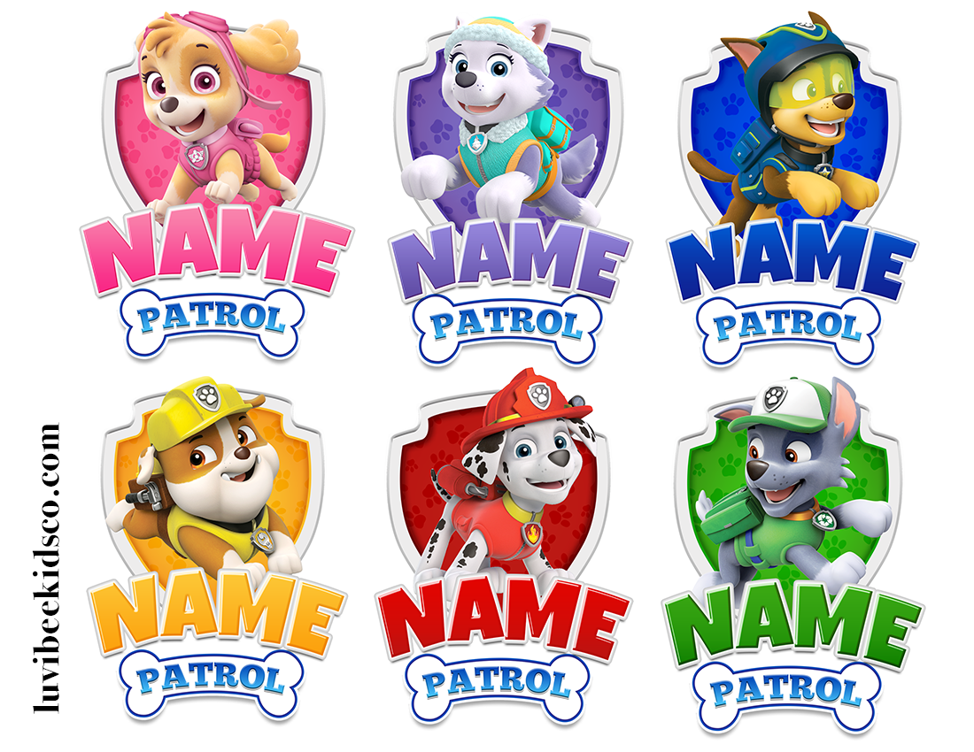 Paw Patrol Birthday Shirt Transfers! See more and have ...