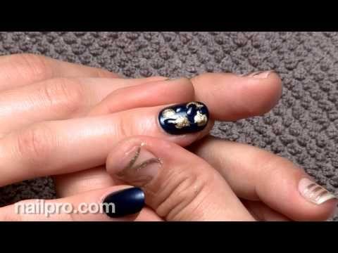 Nail Art How To: Moody Jewels (September 2014) Behind the Nail Pros | Nailpro