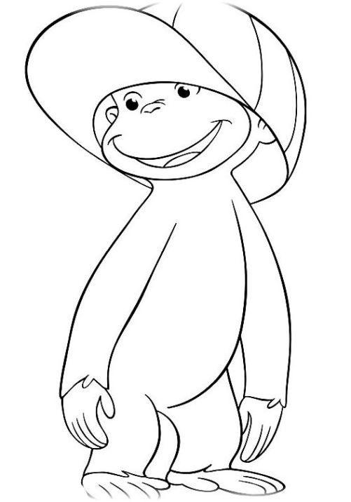 Ausmalbilder Für Kinder Coco Der Neugierige Affe 18