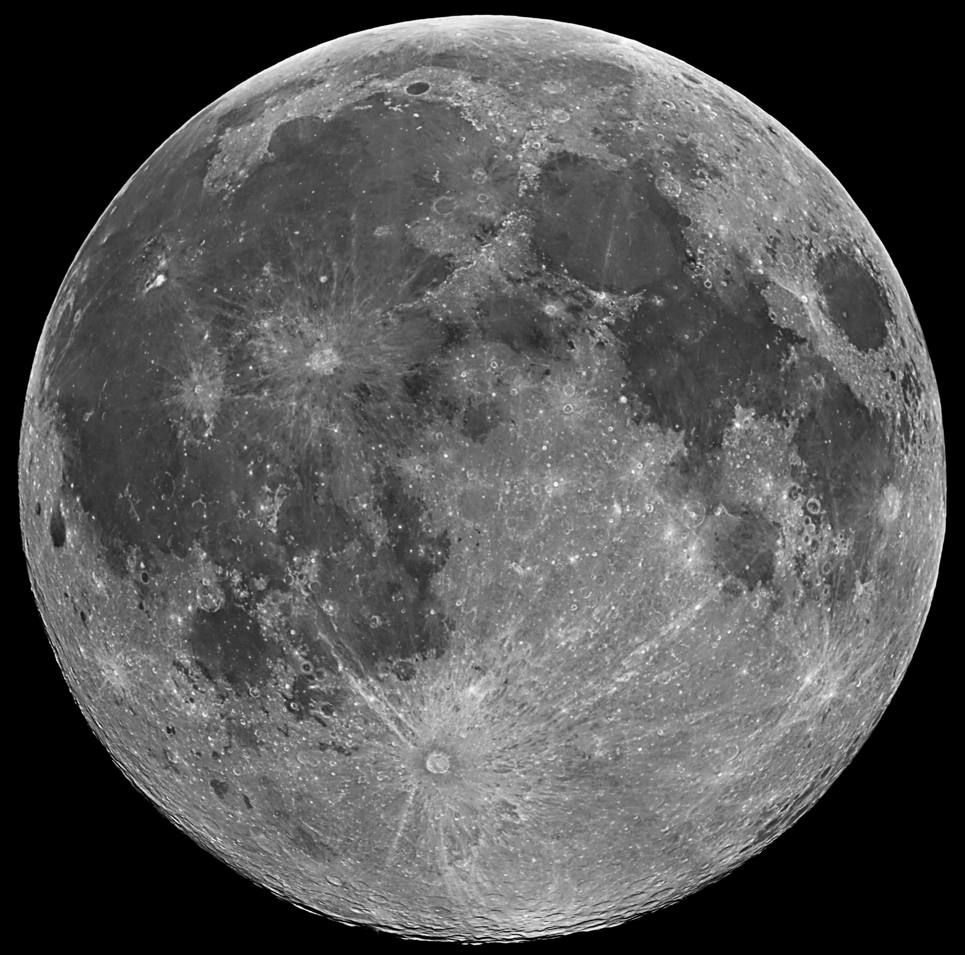 Full Moon: High Resolution Full Moon
