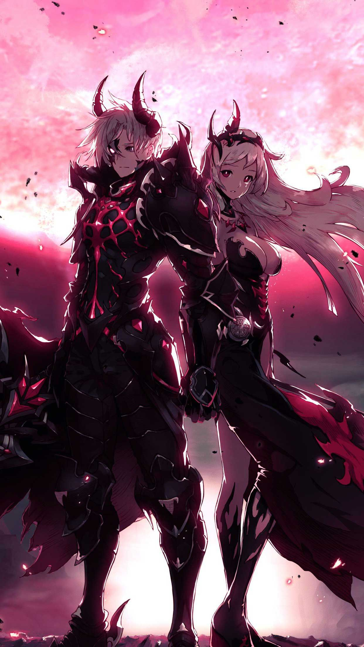 Kings Raid Pandemonium K M Iphone Wallpapers Hd Cool Anime Pictures Anime Character Design Anime King